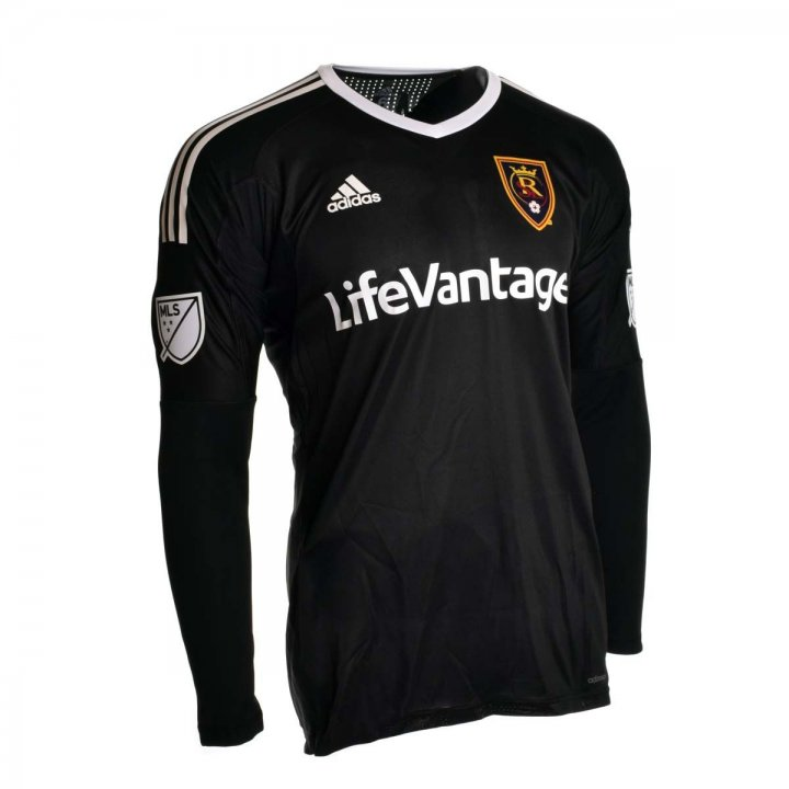 Real Salt Lake MLS Nick Rimando Keeper Longsleeve Replica Jersey (Black)