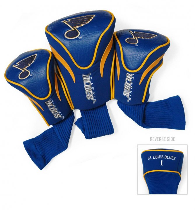 St. Louis Blues 3 Pack Contour Sock Headcovers