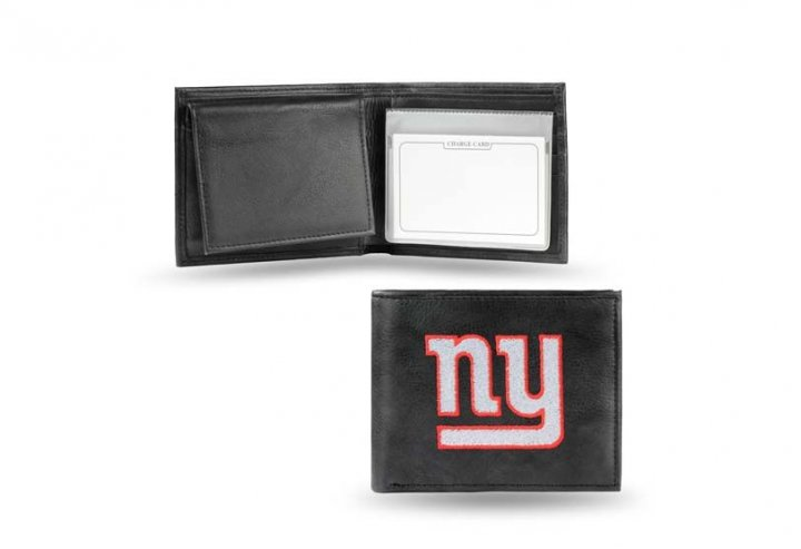 New York Giants NFL Leather Wallet