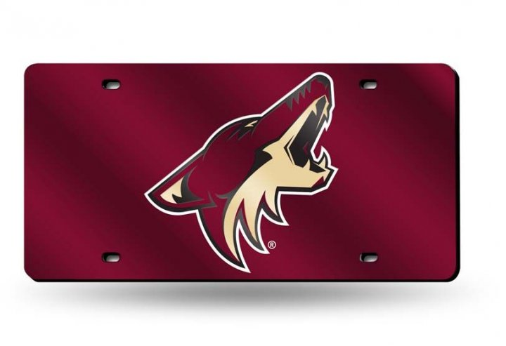 Arizona Coyotes NHL Laser Cut Alternate License Plate Tag