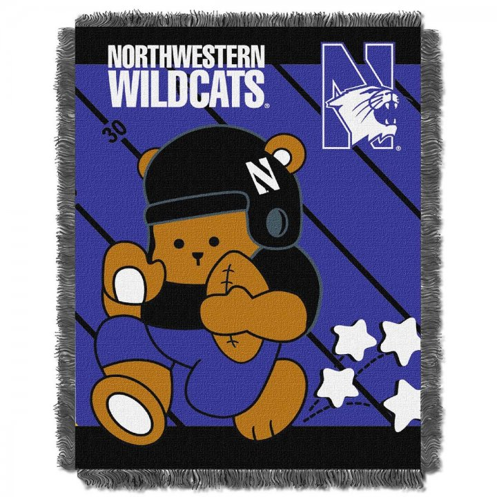 Northwestern Wildcats Fullback Baby Throw