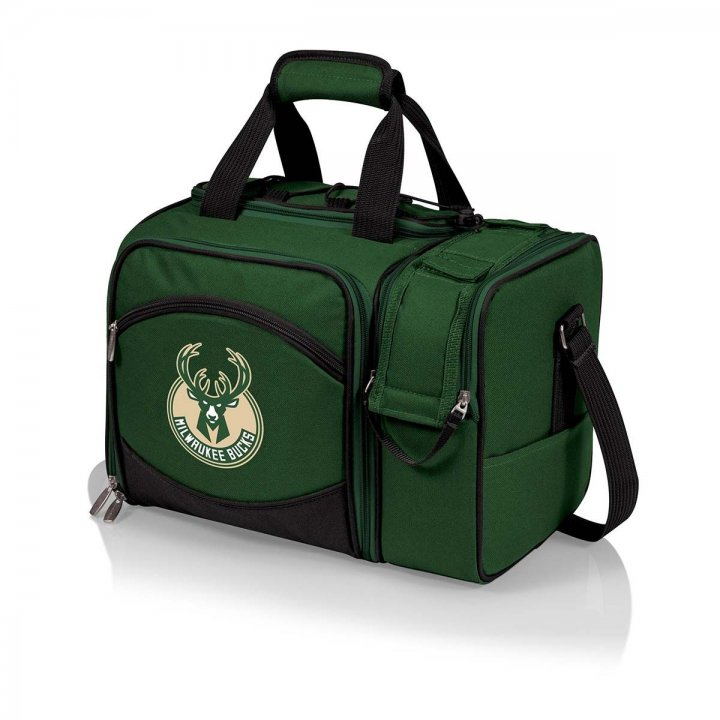 Milwaukee Bucks Malibu Picnic Tote (Green)