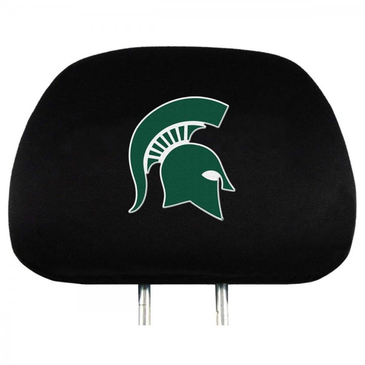 Michigan State Spartans Headrest Cover