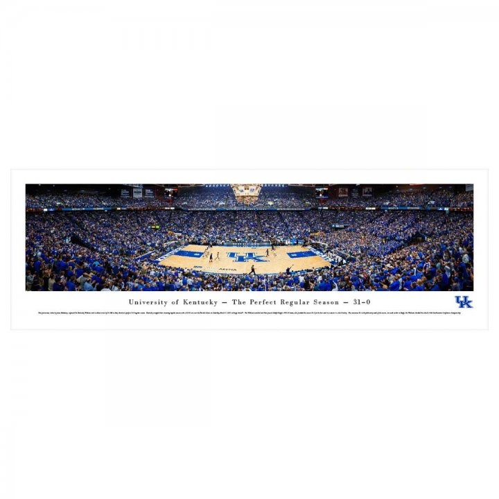 Kentucky Wildcats Unframed Panorama