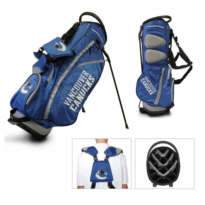 Vancouver Canucks Fairway Stand Bag