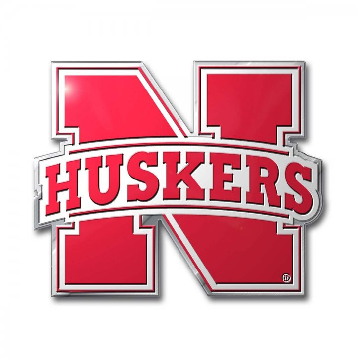 Nebraska Cornhuskers Color Emblem