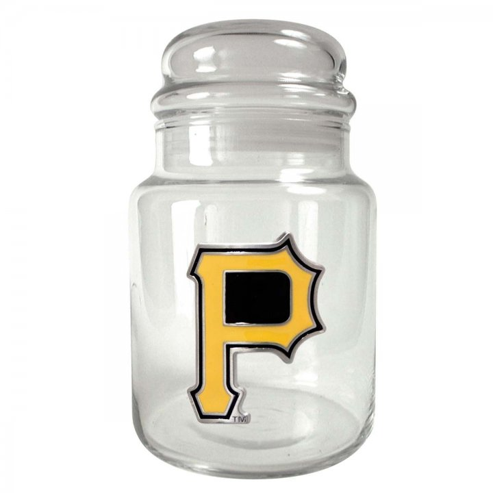 Pittsburgh Pirates MLB Candy Jar (Clear)