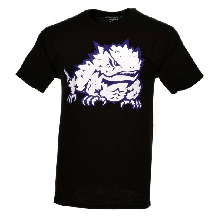 TCU Horned Frogs NCAA Color Pop Tee (Black)