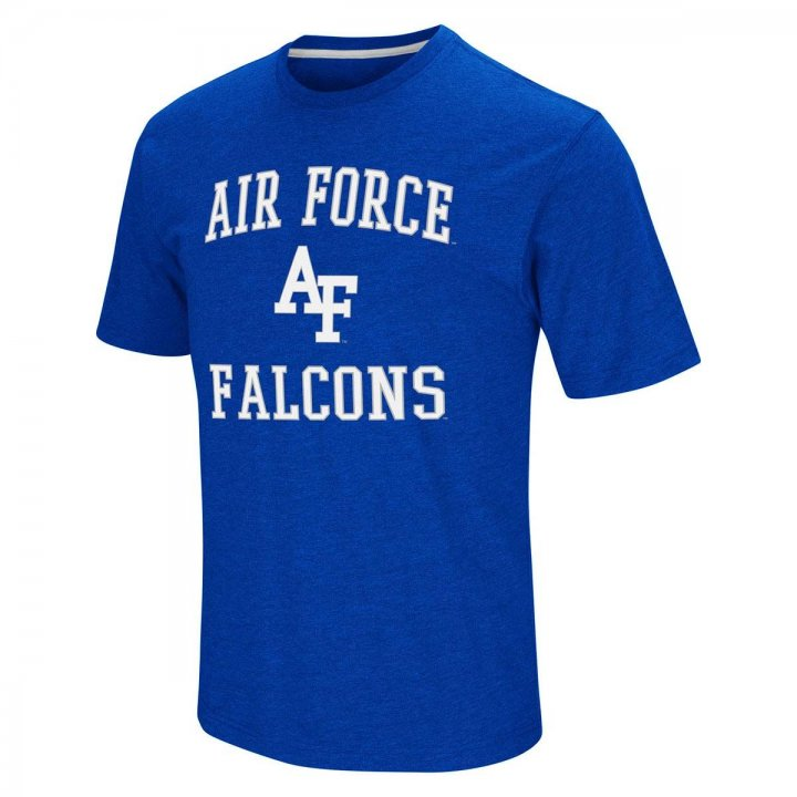 Air Force Falcons NCAA Fun Run Tee (Royal)