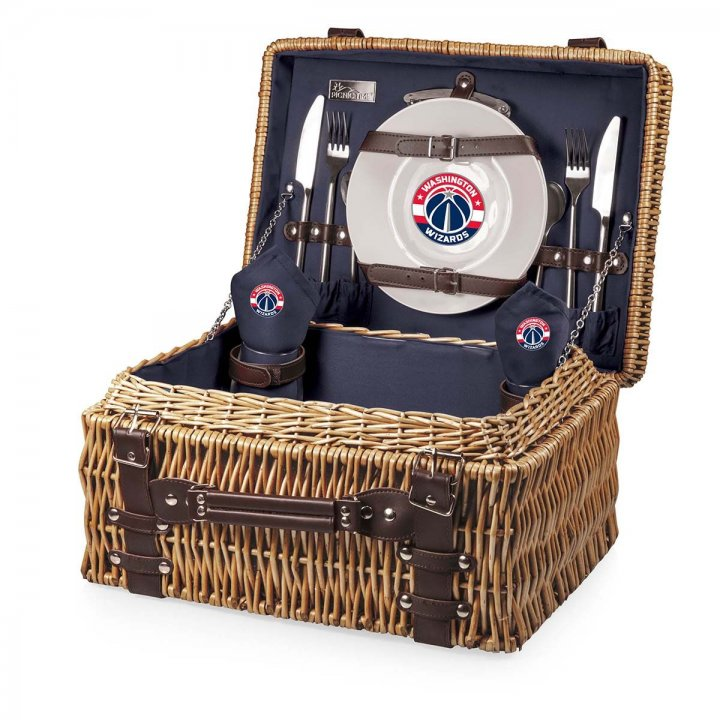 Washington Wizards Champion Picnic Basket (Navy)