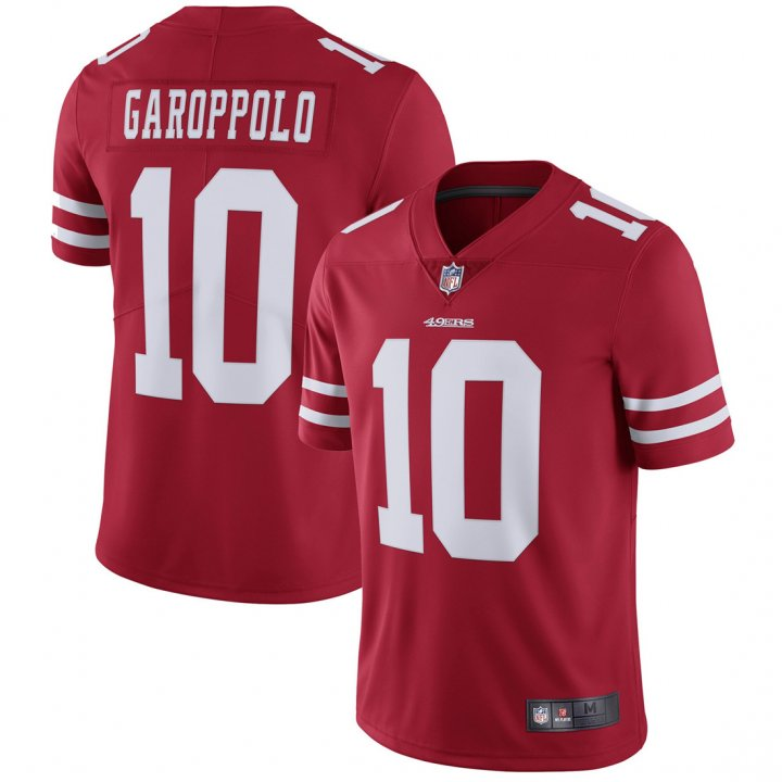 Franklin Sports Youth Kids 10 Jimmy Garoppolo San Francisco 49ers Jersey Red