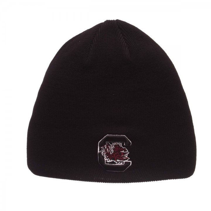 South Carolina Gamecocks Edge Knit Beanie (Black)