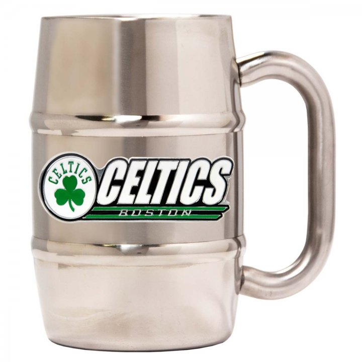 Boston Celtics Boston Celtics 16 oz Double Wall Stainless Steel Mug