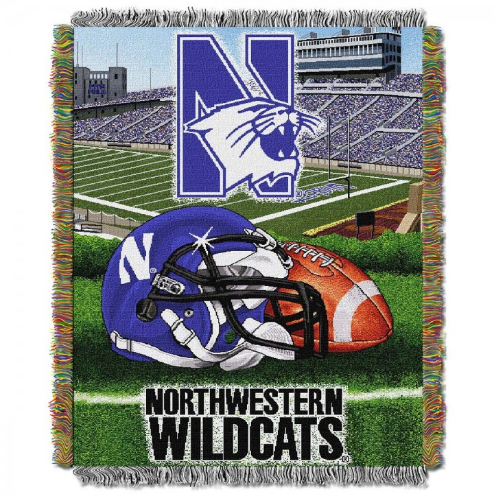 Northwestern Wildcats Home Field Advantage Throw