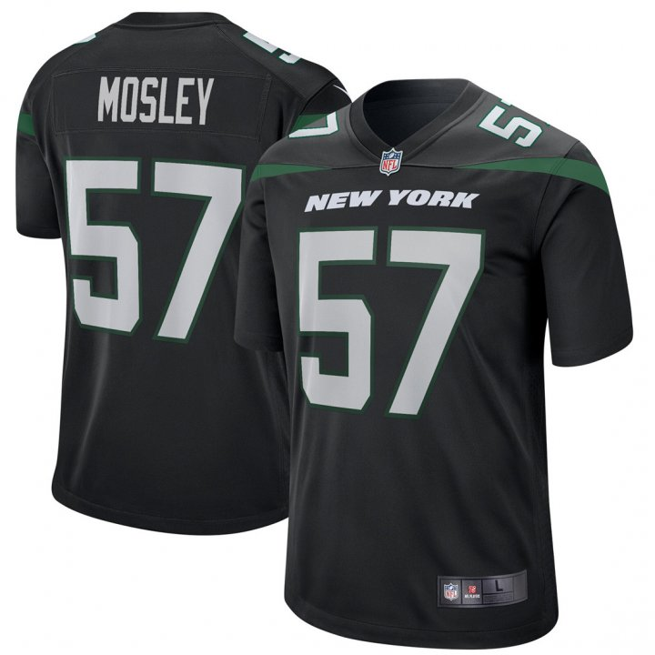 VF Youth Kids 57 C.J. Mosley New York Jets Jersey Black