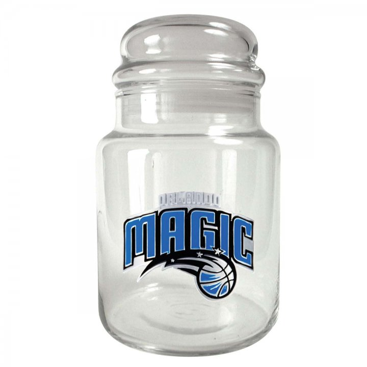 Orlando Magic NBA Candy Jar (Clear)