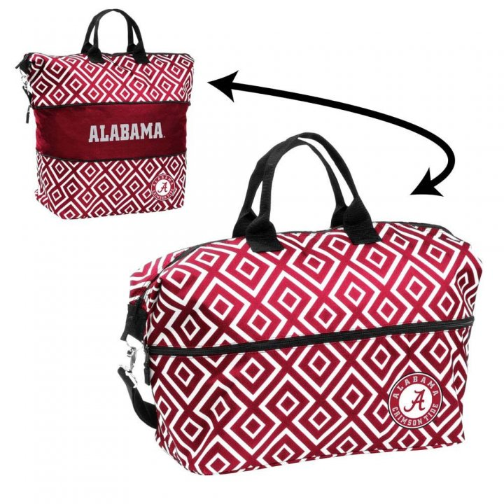 Alabama Crimson Tide Expandable Tote