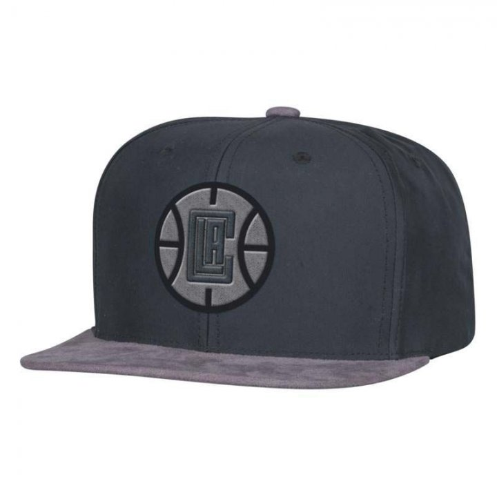 Los Angeles Clippers NBA Buttery Snapback (Gray)