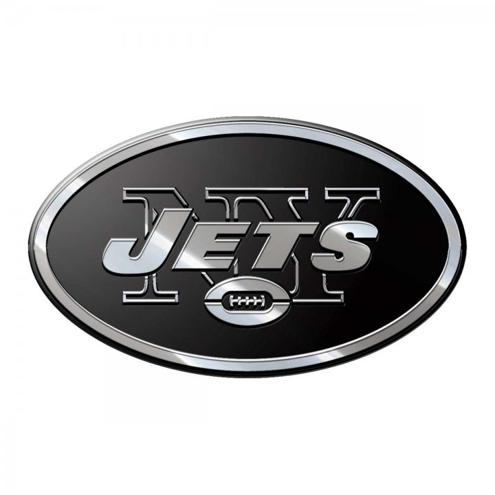 New York Jets Metal Emblem