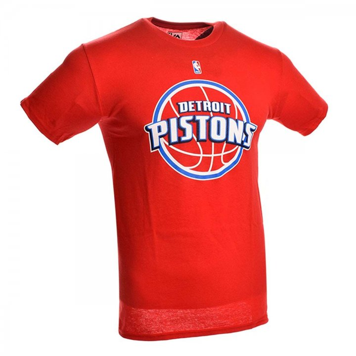 Detroit Pistons Primary Logo T-Shirt (Red)