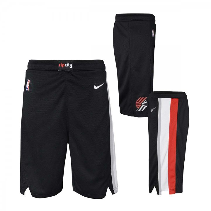 Portland Trail Blazers NBA Youth Swingman Short (Black)