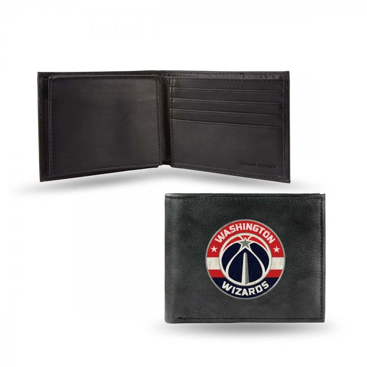 Washington Wizards NBA Leather Wallet (Black)