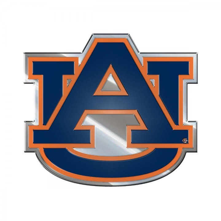Auburn Tigers Color Emblem