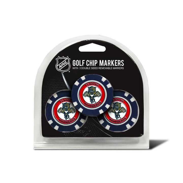 Florida Panthers Golf Ball Markers 3 Pack