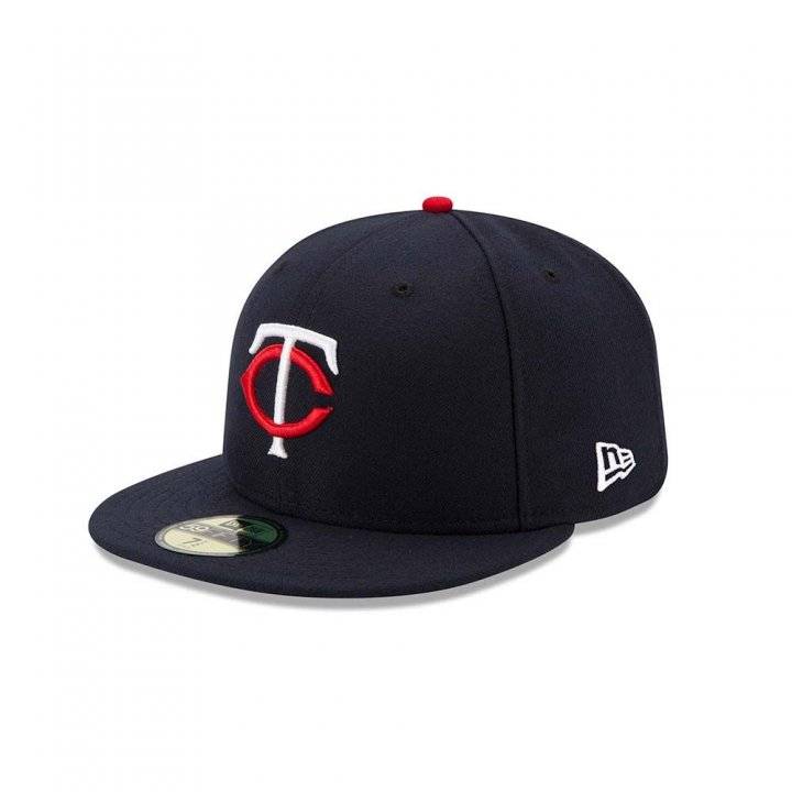 Minnesota Twins MLB Authentic Collection Home 5950 (Navy)
