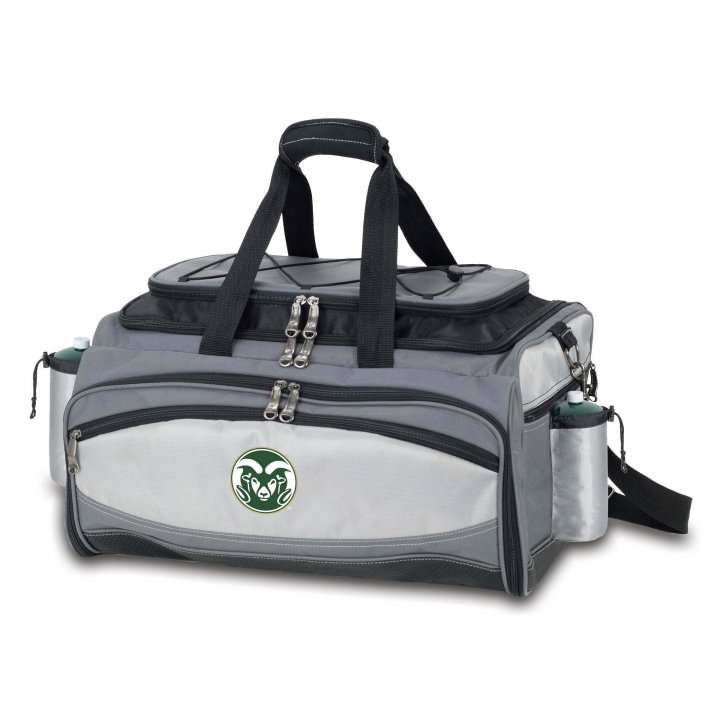 Colorado State Rams Vulcan Portable BBQ and Cooler Tote