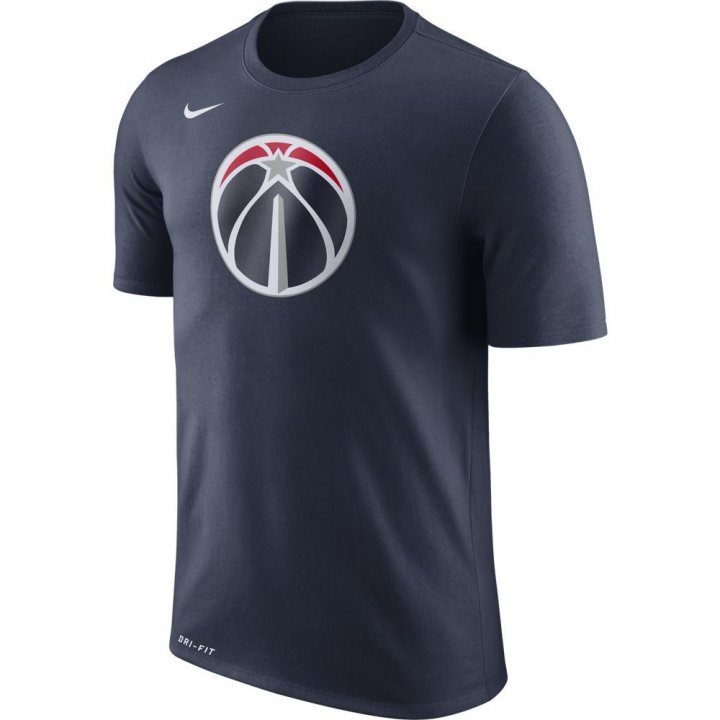 Washington Wizards NBA Nike Logo Tee (Navy)