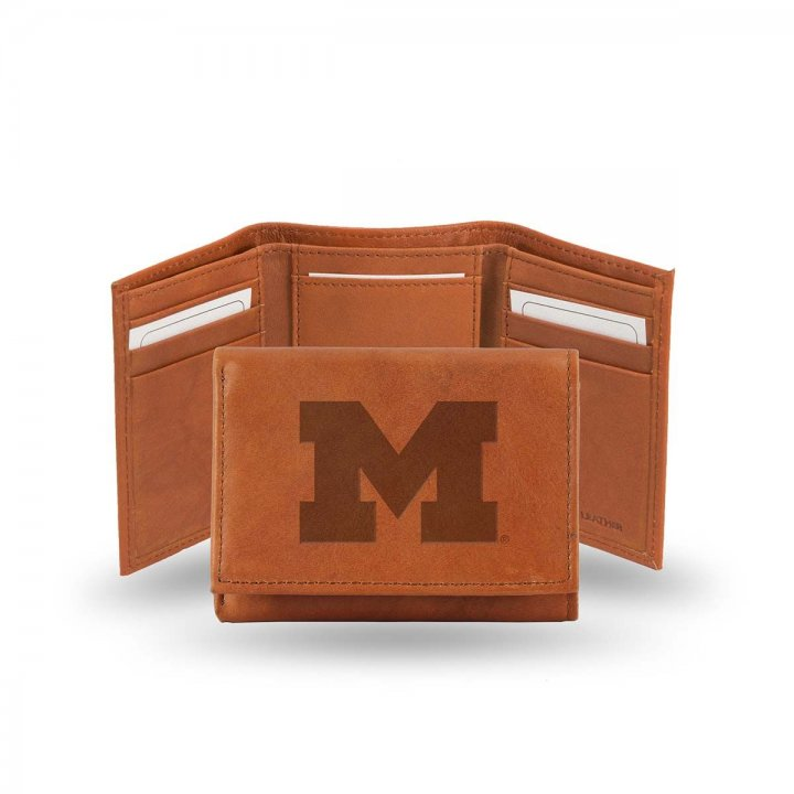 Michigan Wolverines Tri-Fold Wallet