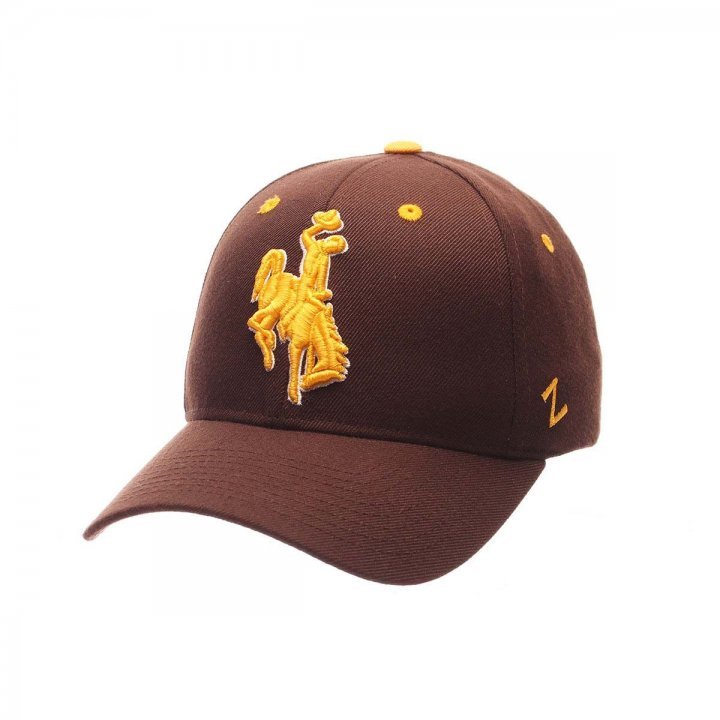 Wyoming Cowboys Competitor Adjustable Hat (Brown)