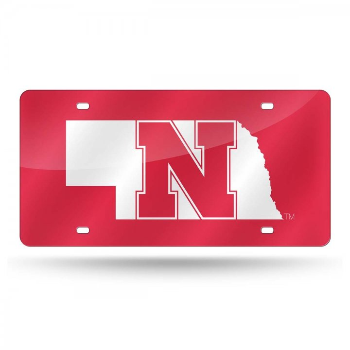 Nebraska Cornhuskers NCAA Alternate Laser Cut Tag