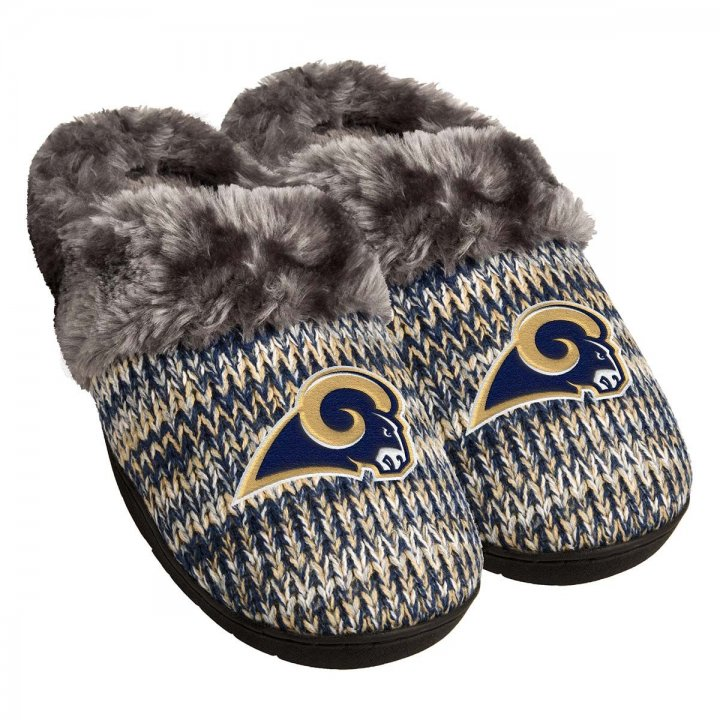 Los Angeles Rams NFL Womens Peak Slide Slipper