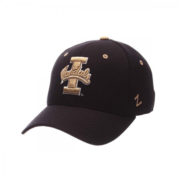 Idaho Vandals Zephyr NCAA Dh Fitted Hat (Black)