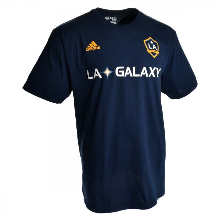 Los Angeles Galaxy MLS Giovani Dos Santos Go To Player Name And Number Tee (Navy)