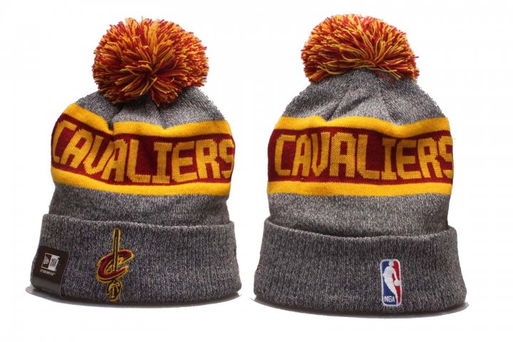 New Era NBA Sport Knit Beanie Hat Winter Cap(Cleveland Cavaliers 1)
