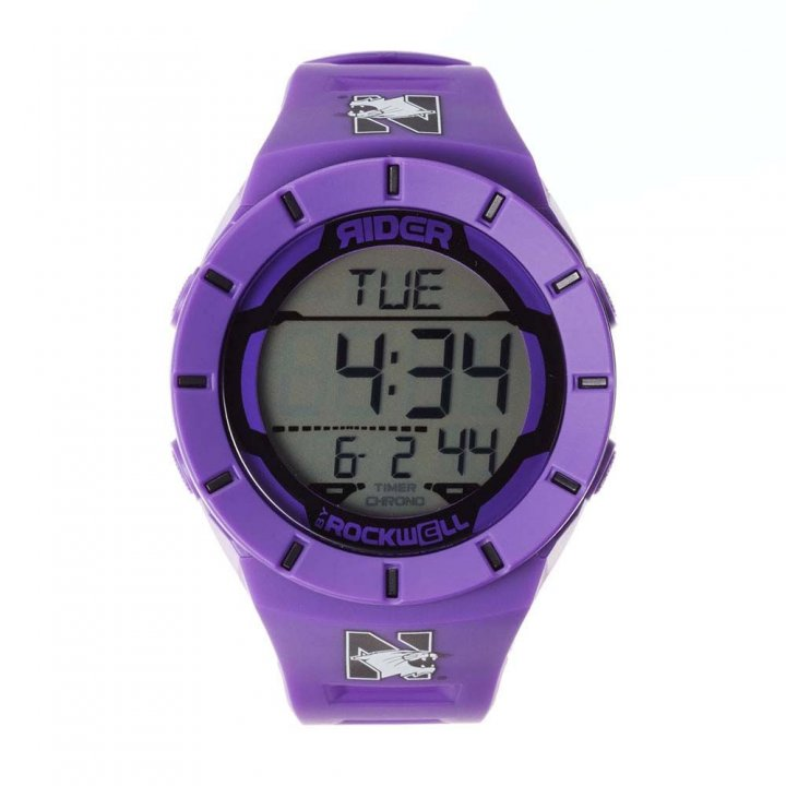Northwestern Wildcats Coliseum Watch (Purple)