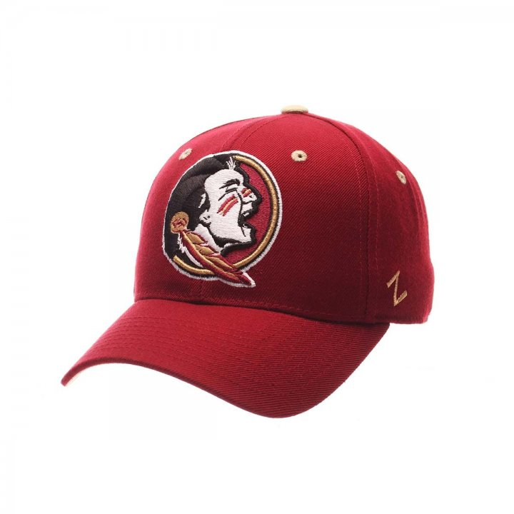 Florida State Seminoles Zephyr NCAA Dhs Fitted Hat (Red)
