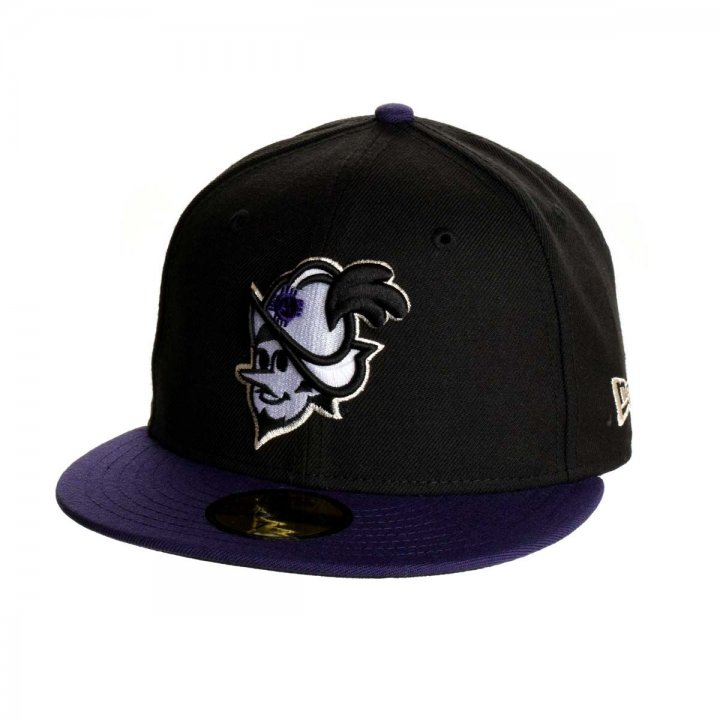 Albuquerque Dukes MiLB Dukes Black Purple 5950 (Black)