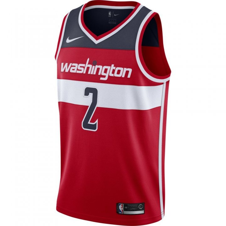Washington Wizards NBA John Wall Mens Nike Icon Swingman Jersey (Red)