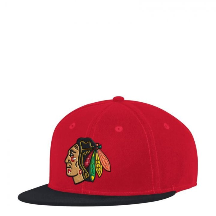 Chicago Blackhawks NHL 2 Tone Core Launch Fitted (Red)