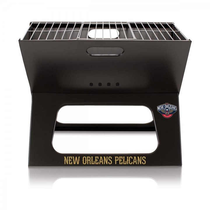 New Orleans Pelicans X-Grill Portable BBQ Grill