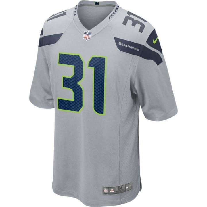 Kam Chancellor Seattle Seahawks Youth Nike Game Jersey (Gray)