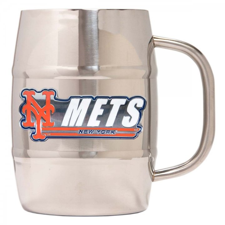 New York Mets New York Mets 32 oz Double Wall Stainless Steel Mug