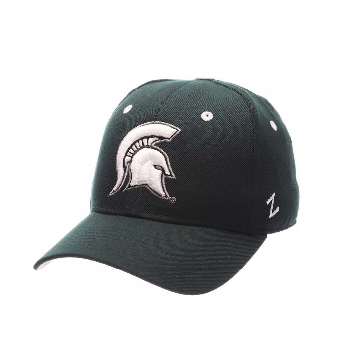 Michigan State Spartans Zephyr NCAA Dhs Fitted Hat (Green)