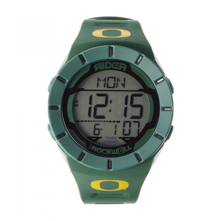 Oregon Ducks Coliseum Watch (Green)