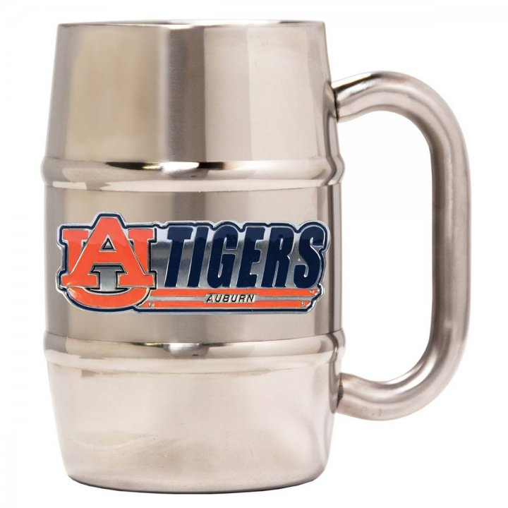 Auburn Tigers Auburn Tigers 16 oz Double Wall Stainless Steel Mug