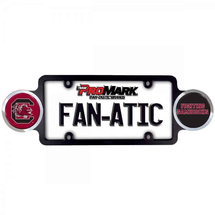 South Carolina Gamecocks Badge License Plate Frame